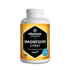 MAGNESIUMCITRAT 360 mg vegan Kapseln 180 Stück