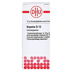 BRYONIA D 12 Globuli 10 Gramm N1 - Vorderseite