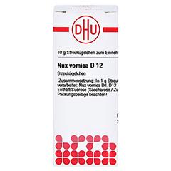 NUX VOMICA D 12 Globuli 10 Gramm N1 - Vorderseite