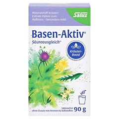 BASEN AKTIV Mineralstoff-Kräuter-Extrakt-Pulver 90 Gramm - Vorderseite
