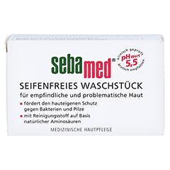 Sebamed Seifenfreies Waschstück 100 Gramm - Vorderseite