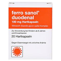 Ferro sanol duodenal 100mg 20 Stück N1 - Vorderseite