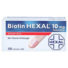 BIOTIN HEXAL 10 mg Tabletten 100 Stück N3 - Vorderseite