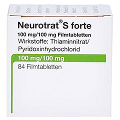 NEUROTRAT S forte Filmtabletten 84 Stück - Linke Seite