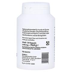 GLUCOSAMIN+CHONDROITIN Kapseln für Hunde 120 Stück - Linke Seite