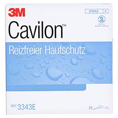 CAVILON 3M Lolly reizfreier Hautschutz 25x1 Milliliter - Vorderseite