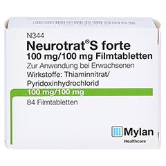 NEUROTRAT S forte Filmtabletten 84 Stück - Vorderseite