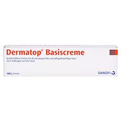 Dermatop Basiscreme 100 Gramm - Vorderseite