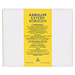 Kamillin-Extern-Robugen Beutel 25x40 Milliliter - Rückseite