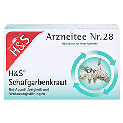 H&S Schafgarbenkraut 20x1.7 Gramm - Vorderseite