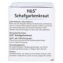 H&S Schafgarbenkraut 20x1.7 Gramm - Rechte Seite