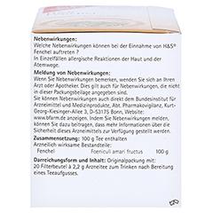 H&S Fenchel 20x2.2 Gramm - Linke Seite