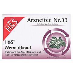 H&S Wermutkraut 20x1.5 Gramm - Vorderseite