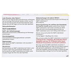 H&S Lindenblüten 20x1.8 Gramm - Rückseite