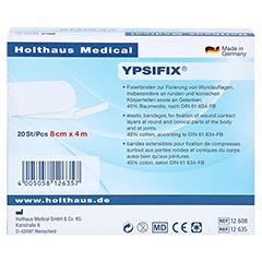 FIXIERBINDE Ypsifix elastisch 8 cm x 4 m 20 Stück - Rückseite