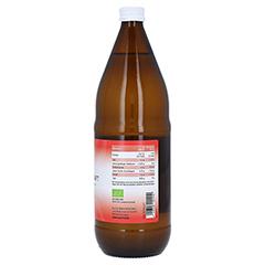Aloe Vera SAFT Bio 100% 1000 Milliliter - Linke Seite
