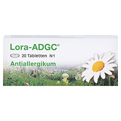 Lora-ADGC 20 Stück N1 - Vorderseite