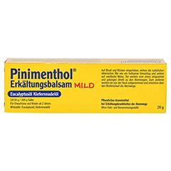 Pinimenthol Erkältungsbalsam mild 20 Gramm N1 - Rückseite