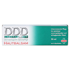 DDD Hautbalsam Dermatologische Spezialpflege 50 Gramm - Vorderseite