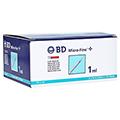 BD Micro-fine + U 40 Insulinspritze 12,7mm 100x1 Milliliter