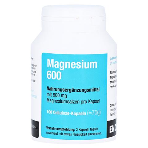Magnesium 600 Kapseln 100 Stück