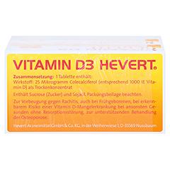 Vitamin D3 Hevert 200 Stück - Oberseite