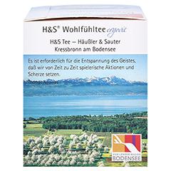 H&S Entspannung Filterbeutel 20x1.8 Gramm - Rechte Seite
