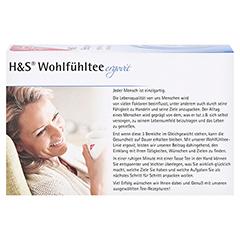 H&S Entspannung Filterbeutel 20x1.8 Gramm - Rückseite
