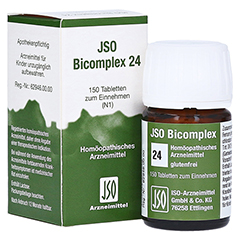 JSO-Bicomplex Heilmittel Nr.24 150 Stück N1