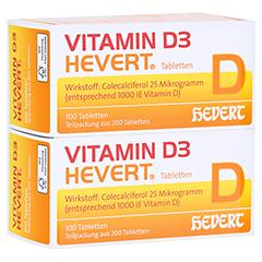 Vitamin D3 Hevert 200 Stück