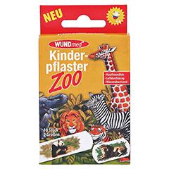 Kinderpflaster Zoo 2 Größen 10 Stück - Vorderseite