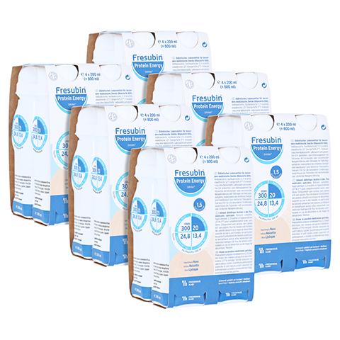 FRESUBIN PROTEIN Energy DRINK Nuss Trinkflasche 6x4x200 Milliliter