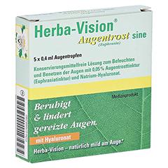 Herba-vision Augentrost sine 5x0.4 Milliliter