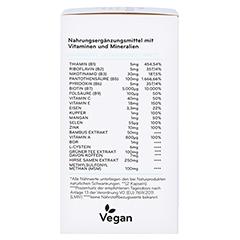 Cosphera Haar-Vitamine 120 Stück - Rechte Seite