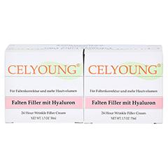 Celyoung Falten Filler mit Hyaluron Creme 100 Milliliter - Vorderseite