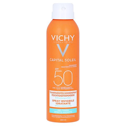 Vichy Ideal Soleil Transparentes Sonnenspray LSF 50 200 Milliliter