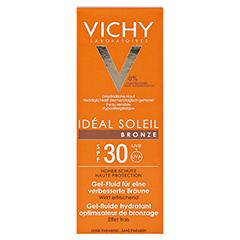 Vichy Ideal Soleil Bronze Gel-Fluid für verbesserte Bräune LSF 30 50 Milliliter - Vorderseite