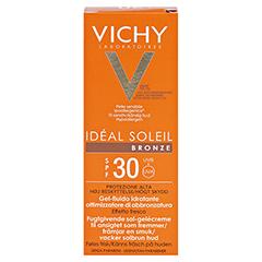 Vichy Ideal Soleil Bronze Gel-Fluid für verbesserte Bräune LSF 30 50 Milliliter - Rückseite