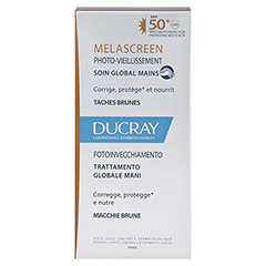 DUCRAY MELASCREEN Photoaging Handcreme LSF 50+ 50 Milliliter - Rückseite