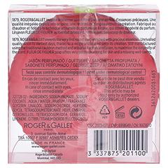 Roger & Gallet Fleur de Figuier Seife 100 Gramm - Rückseite