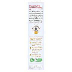 WELEDA Granatapfel Regenerationsöl 100 Milliliter - Rechte Seite