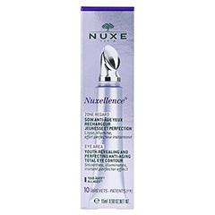 NUXE Nuxellence Yeux Creme + gratis Nuxellence Tag- und Nachtpflege 15 Milliliter - Rückseite
