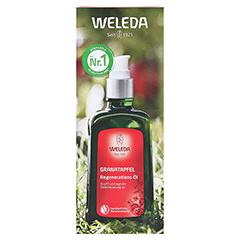 WELEDA Granatapfel Regenerationsöl 100 Milliliter - Vorderseite