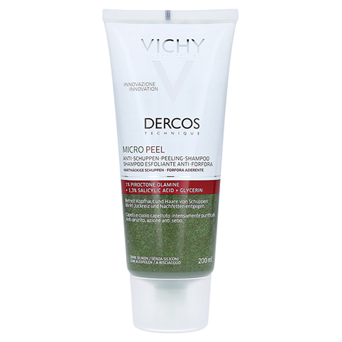 Vichy Dercos Micro Peel Anti-Schuppen Shampoo 200 Milliliter