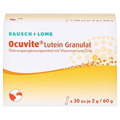 Ocuvite Lutein Granulat Kapseln 30 Stück - Vorderseite