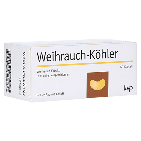WEIHRAUCH-KÖHLER Kapseln 60 Stück