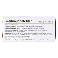 WEIHRAUCH-KÖHLER Kapseln 60 Stück - Unterseite