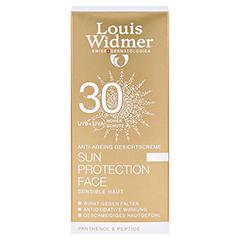 WIDMER Sun Protection Face Creme 30 leicht parfüm 50 Milliliter - Vorderseite