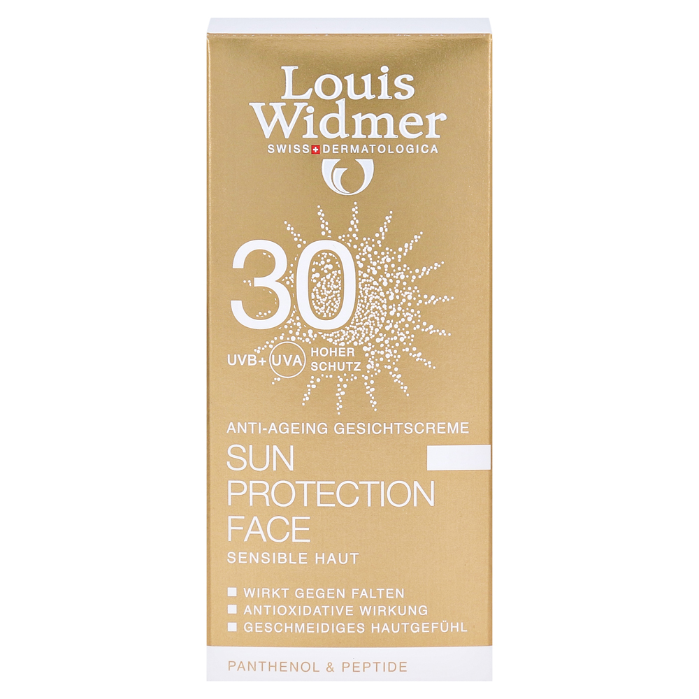 erfahrungen zu widmer sun protection face creme 30 leicht parf m 50 milliliter medpex. Black Bedroom Furniture Sets. Home Design Ideas