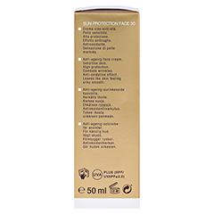 WIDMER Sun Protection Face Creme 30 leicht parfüm 50 Milliliter - Linke Seite